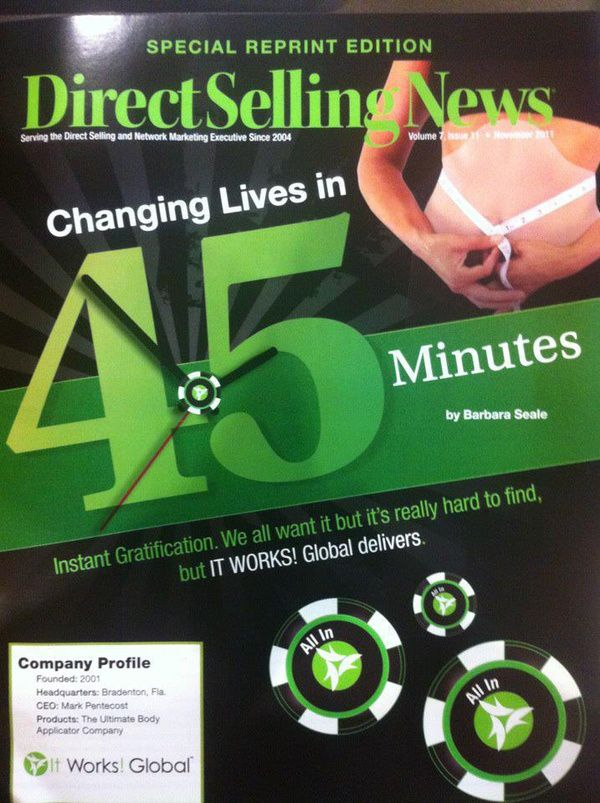 It Works Global in Direct Selling News Magazine