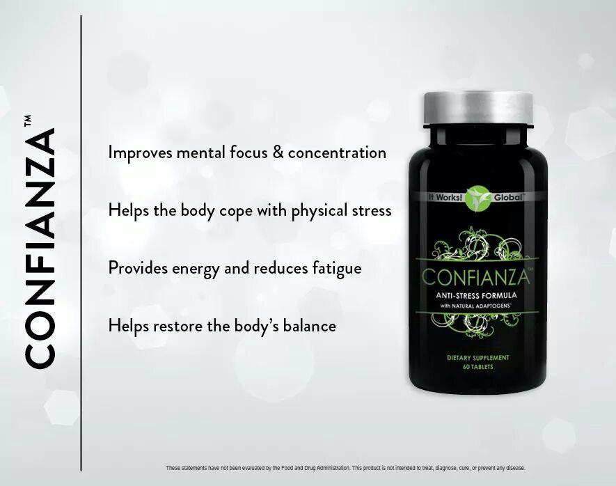 It Works Confianza Product Info