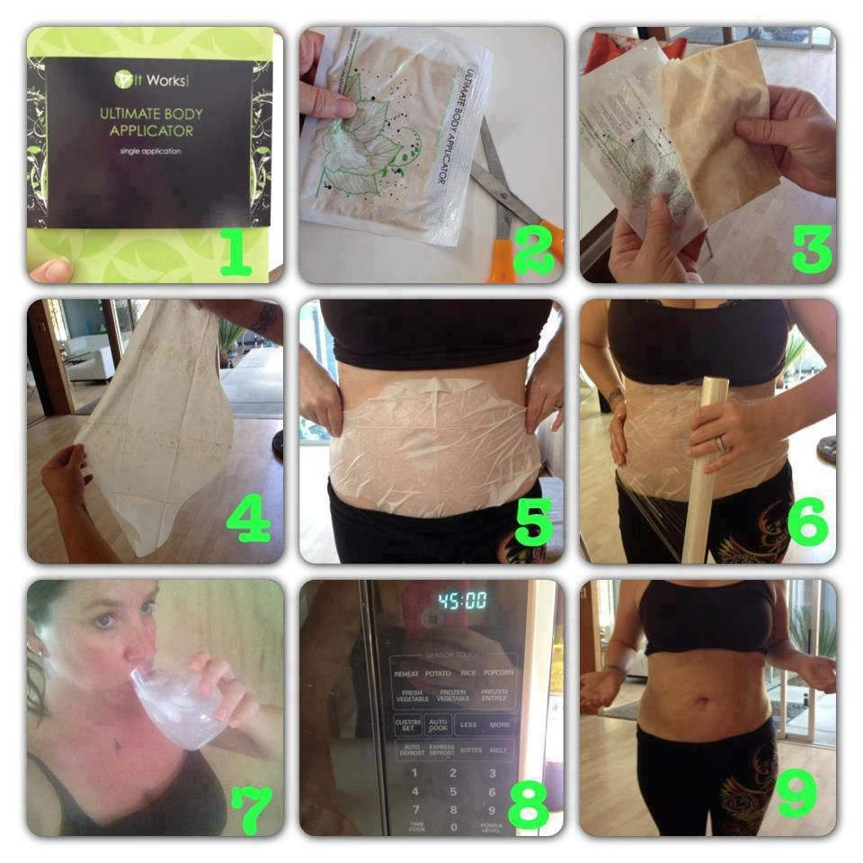 It Works Body Wraps Instructions
