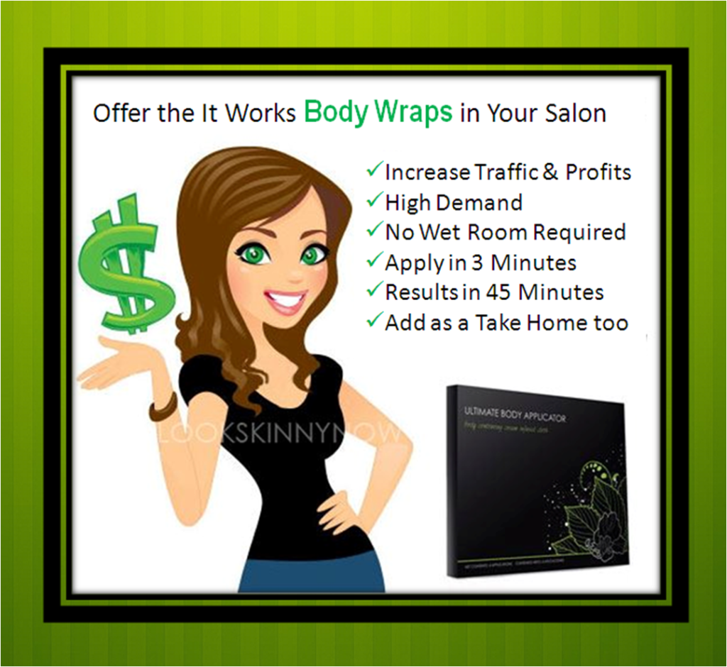 Get Wholesale It Works Body Wraps for Salons and Spas