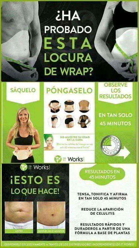 It Works Body Wraps Spanish Information