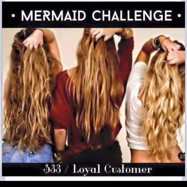 It Works Mermaid Hair Challenge