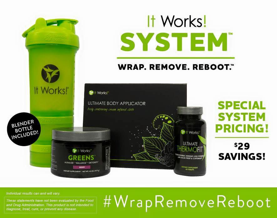 It Works System: Wrap, Remove, Reboot