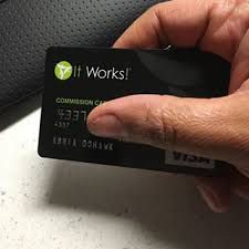 It Works Visa Debit Card