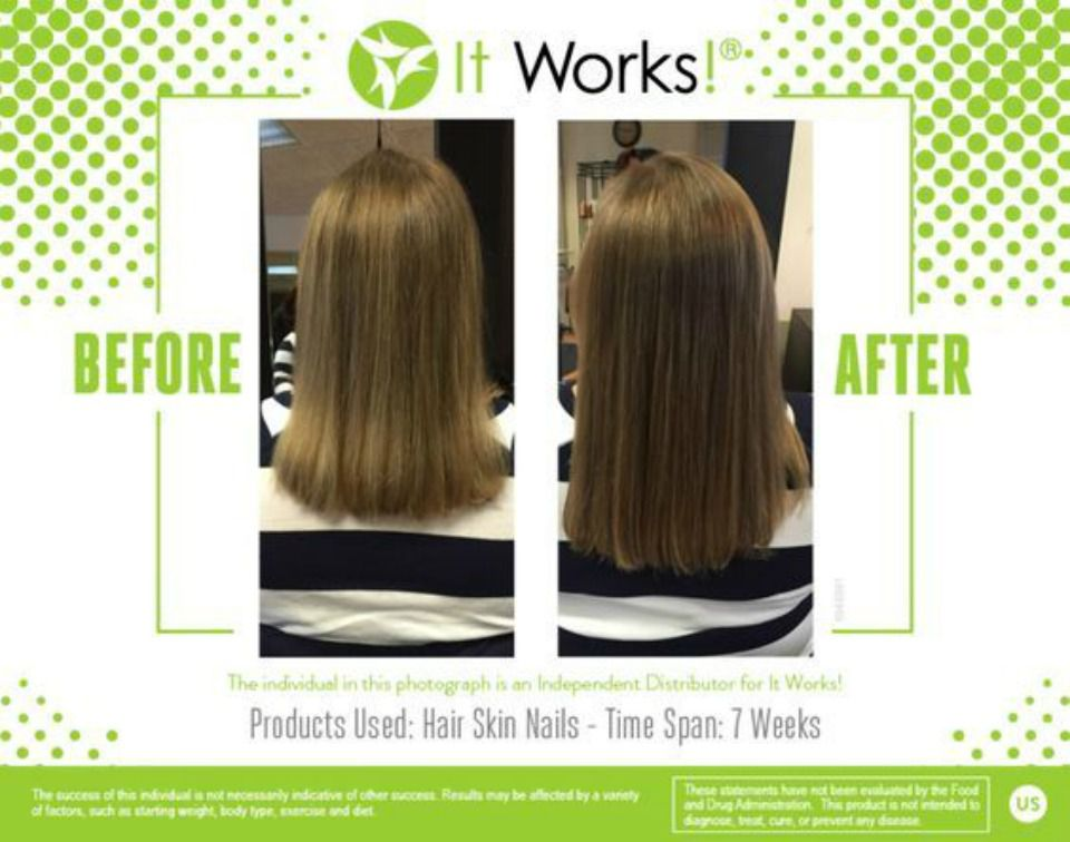 It Works Hair Skin & Nails 21 Days