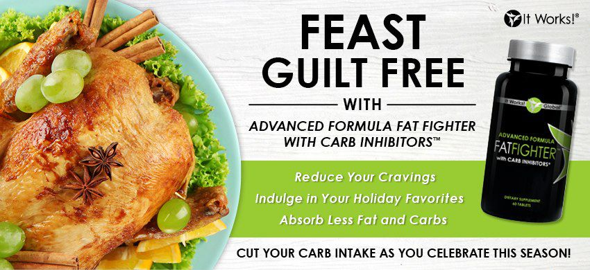 It Works Fat Fighters for Holiday Feasts