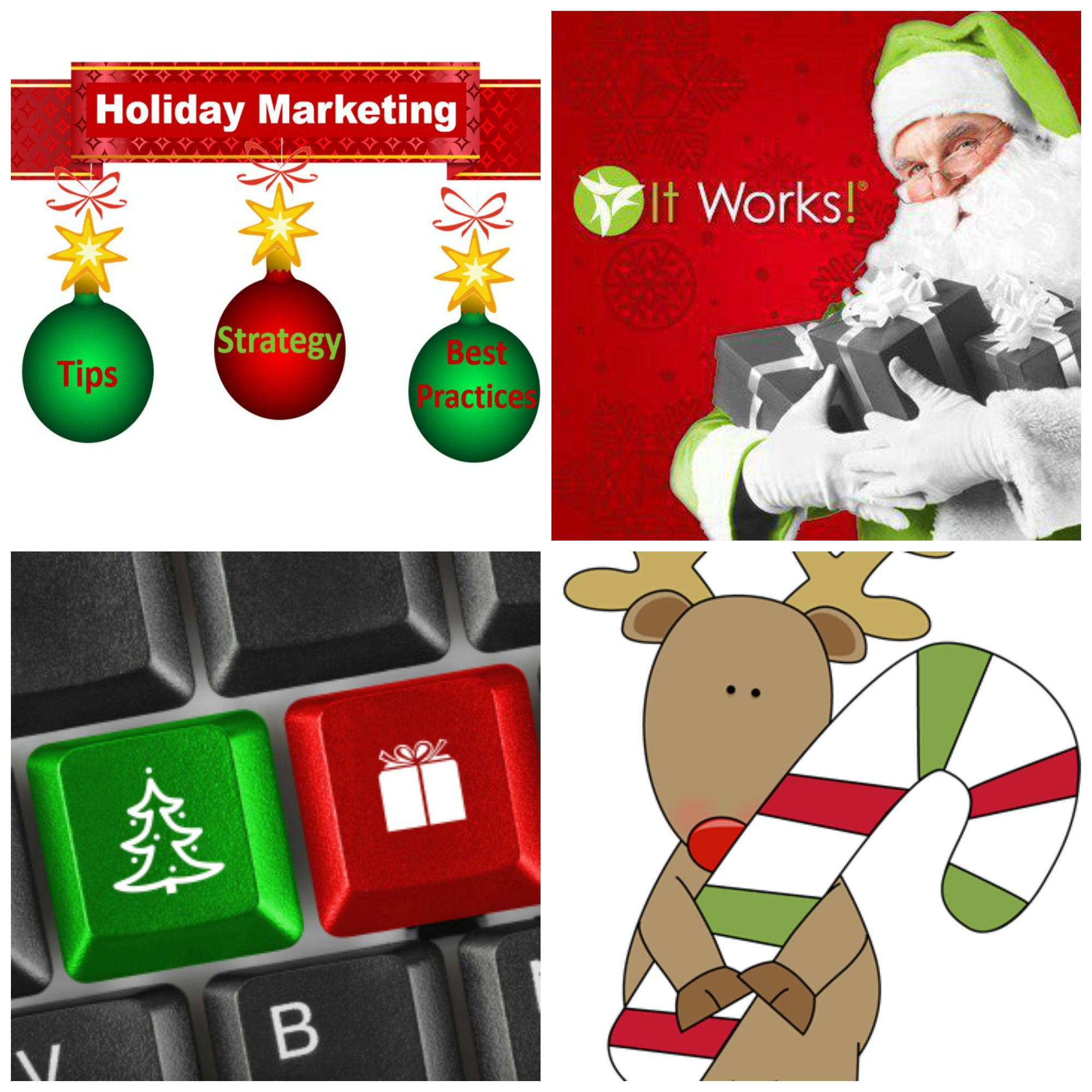 It Works Distributor Holiday Marketing Tips